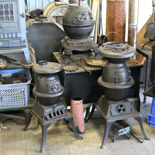 Pot Bellys We stock assorted pot bellys all restored by us.